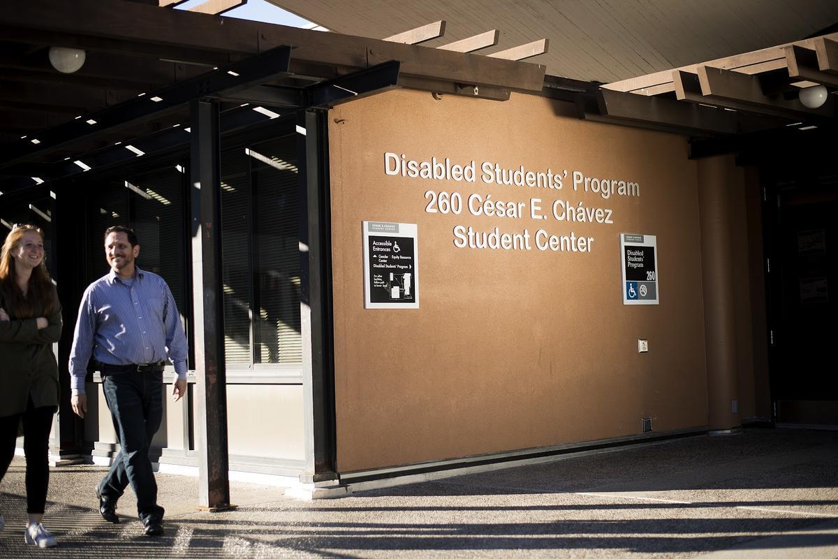 Disabled Students' Program 260 Cesar E. Chavez Student Center