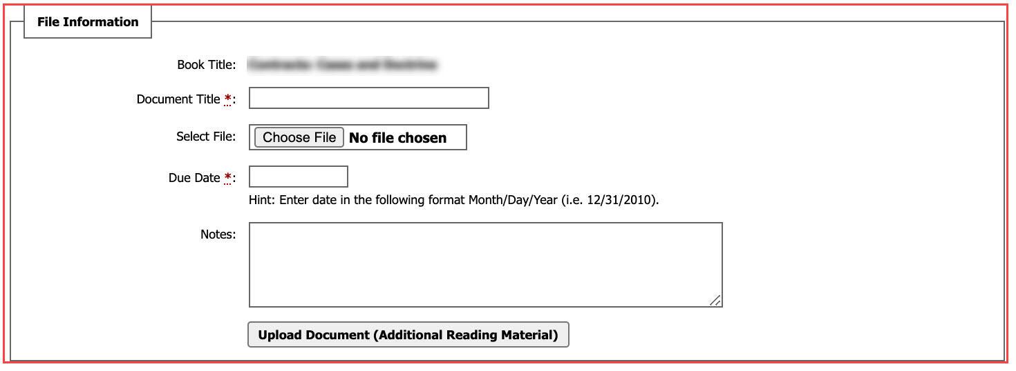 AIM - Upload a Document